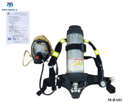 M-Ba02 de nieuwe High-Tech van de Stijl Apparaten van de Ademhaling van Msa van de Noodsituatie Scba