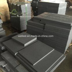 Usine de grès noir de Chine en gros pour revêtement mural et le plancher