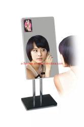 """Custom 55""""Miroir Magique Ad Interactive player lecteur vidéo multimédia de réseau multimédia moniteur LED de signalisation numérique HD LCD Affichage de publicité"""