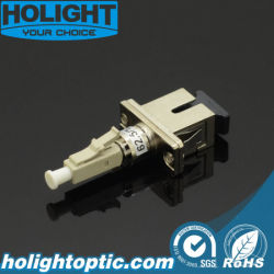El LC SC Simplex Om3 Adaptador de fibra óptica