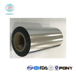 Haute Barrière contre l'eau et d'oxygène de bonnes propriétés d'extension Od2.7 RPC Film métallisé pour Biscuit les nouilles instantanées