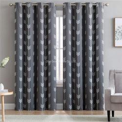 Ty-C2024um novo desenho impresso simples Janela de blecaute cortina para Sala de estar quarto de cama