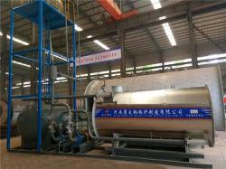 Industryのための350-2400kw Natural Gas LPG Oil Diesel Fired Thermal Fluid Oil Boiler Heater