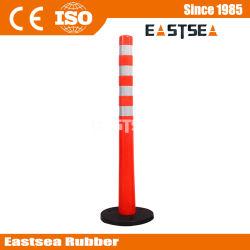 가벼운 부는 기초 또는 소통량 고무를 가진 플라스틱 철회 가능한 벨트 방벽