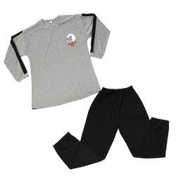 Les hommes d'accueil s'adapter à la taille de coton Plus de confort Pyjama hommes grands garçons Pyjama deux pièces de la famille de vacances respirante Pyjama d'hiver élastique