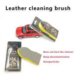 Escova para limpar carro bancos de couro, peças de plástico e Suportes