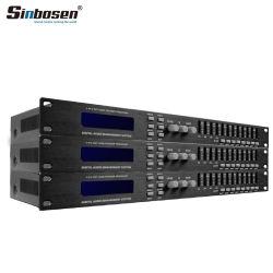 Dp 448 4 em 8 profissionais de áudio Altifalante de Matriz de linha de equipamentos de som Management Processador Digital
