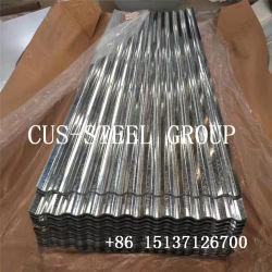 Matériaux décoratifs Congo/la plaque de toiture en métal galvanisé la feuille de fer de toiture