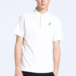 SaleのためのOEM Custom Embroidered WhiteポロShirt 100%年のCotton