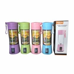 소형 홈 USB 6 잎 Juicer 재충전용 과일 Juicer 믹서
