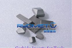 Os blocos de carboneto cementado tungsténio/insertos para ferramentas agrícolas agrícolas