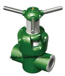 API 6barro de la válvula (extremo roscado) utilizado en el campo de aceite