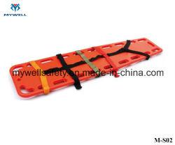 M-J06 защитного оборудования пластмассовые позвоночника с носилок ремни