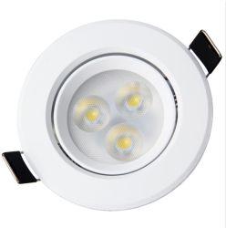 Plafonniers encastrés à LED 3W Mini petit Spot Light Indoor hôtel boutique de bijoux IP44
