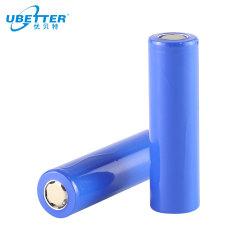 18650 3.6V 2600mAh Batería de litio recargable en la celda para el almacenamiento de energía