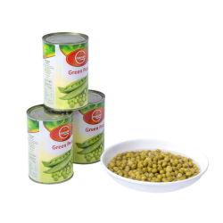中国の新しい豆は塩水のグリーンピースを缶詰にした