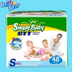 2018 La Chine Le commerce de gros de la fabrication de couches pour bébés jetables Nice Sunny Sleepy bébé couches en tissu