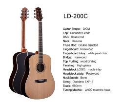 ギターの卸し売り中国のブランドの古典的なギターのシナノキの木製のオンライン販売法