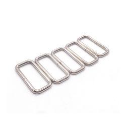 Aço de metal soldado Anel Retângulo para sacos