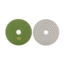 Qualidade superior de 4 Polegada D100mm Diamond Polimento molhado Resina Almofada Rebolos abrasivos para Ferramentas de polimento