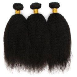 Gruppi diritti dei capelli umani di Yaki 100% dei capelli brasiliani di prezzi all'ingrosso per la donna