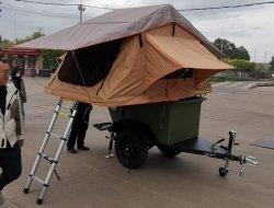 Небольшой поездки кемпинг палатка прицепа