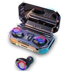 귀 입체 음향 Bluetooth 헤드폰 I9s Wirlees에 있는 Bluetooth 소형 무선 5.0 헤드폰 핸즈프리 헤드폰