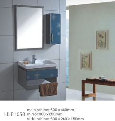 Banho de aço inoxidável vaidade espelhado mobiliário com preço competitivo
