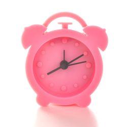Commerce de gros durable Tableau Horloge à quartz silicone souple avec alarme