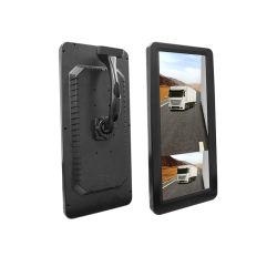 AHD 1080p Auto Backup Rückfahrkamera mit 12,3 Elektronischer Rückspiegel in Zoll für LKW-Bus-Trail