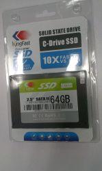 Kingfast 64GB 2.5 ' SATA II MLC Festzustands- Antrieb (KF2501MCJ06)