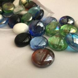 Coloração mista o vidro plano seixos esferas de vidro pérolas de vidro para jogos Esporinha Cabochons enchimentos