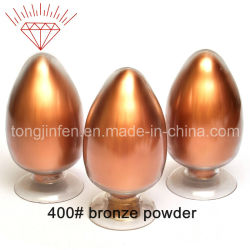 El Bronce de alto brillo en polvo (400#)