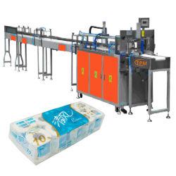 Toilettenpapier-füllende Verpackungs-Einheitmulti Rolls-Gewebe-Verpackmaschine