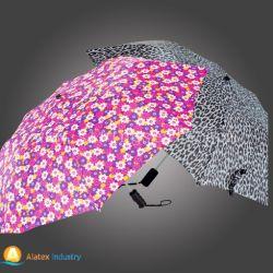 최신 인기 상품 자동차는 2 접히는 우산을 연다