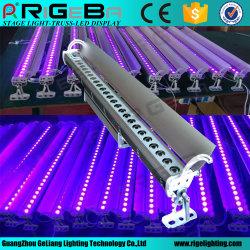 防水IP65 DMX制御27LEDs 3W屋外LED紫外線壁の洗濯機ライト