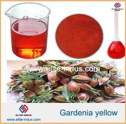自然な食糧着色剤のGardeniaの黄色の粉