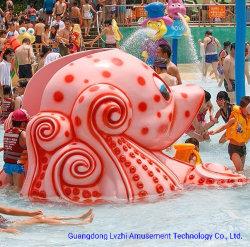 Parco acquatico con scivolo in fibra di vetro per bambini/parco giochi all'aperto (LZ-050)