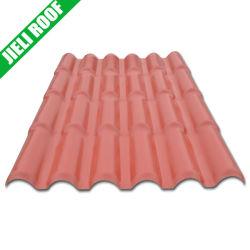 La tuile de toit en résine synthétique de couleur pour le résidentiel chambre