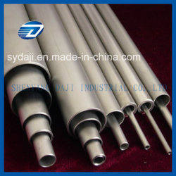 "ASTM B862 Chemical 6"" Sch 40 Solde tubo de titânio"