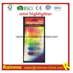 Highlighter profumato Assorted dell'inchiostro non tossico di colori mini per uso promozionale