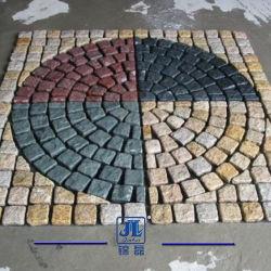 Природные зацепление гранита/базальтовой/Slate/Bluestone форма вентилятора асфальтирование камня в сад или на дороге