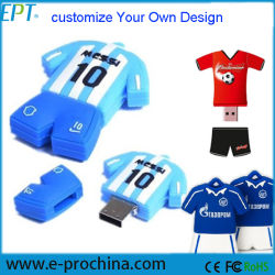 Personnaliser le PVC Sports Flash USB Pen Drive pour échantillon gratuit