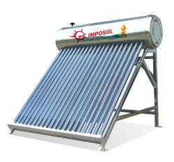 20 أنابيب مسخن مياه ساخن بجهد صغير يعمل بالطاقة الشمسية مع En12975