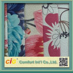 Уютный очаровательный печати Veloba ткань Shsf04693