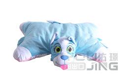 Синий животных мягкие игрушки фаршированные двойные боковые мягкие подушки сиденья