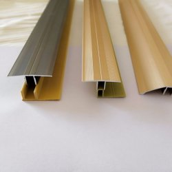 Aluminium-lamellenförmig angeordnete Bodenbelag-Schwellwerte für Laminat