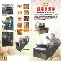 Direct calienta el gas y horno túnel eléctrico Horno Túnel máquina cocción Horno pizza horno panadero máquina La máquina de equipos de Panadería Panadería