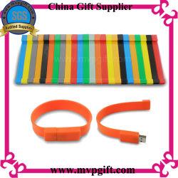 Unità flash USB con braccialetto in silicone