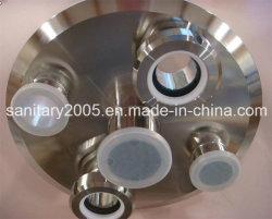 """Coperchio in acciaio inox 304 diametro 6"""" con 1/4 NPT femmina"""